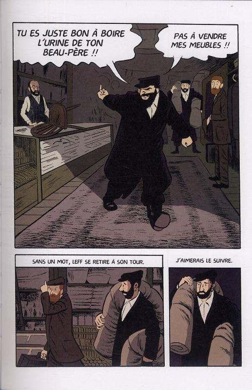 Le jour du marché, comics chez Delcourt de Sturm