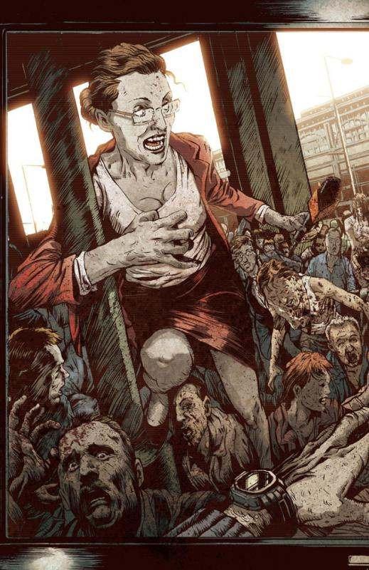 28 jours plus tard T2 : Clint (0), comics chez Delcourt de Nelson, Shalvey, Oleksicki, Filardi, Phillips, Bradstreet