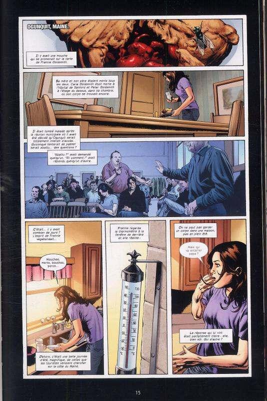 Le fléau T3 : Le cauchemar américain (0), comics chez Delcourt de Aguirre-Sacasa, King, Perkins, Martin, Goleash, Bermejo