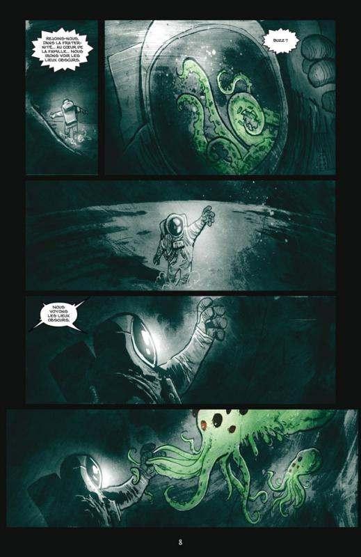 Wormwood T3 : L'invasion des tentacules (0), comics chez Delcourt de Templesmith