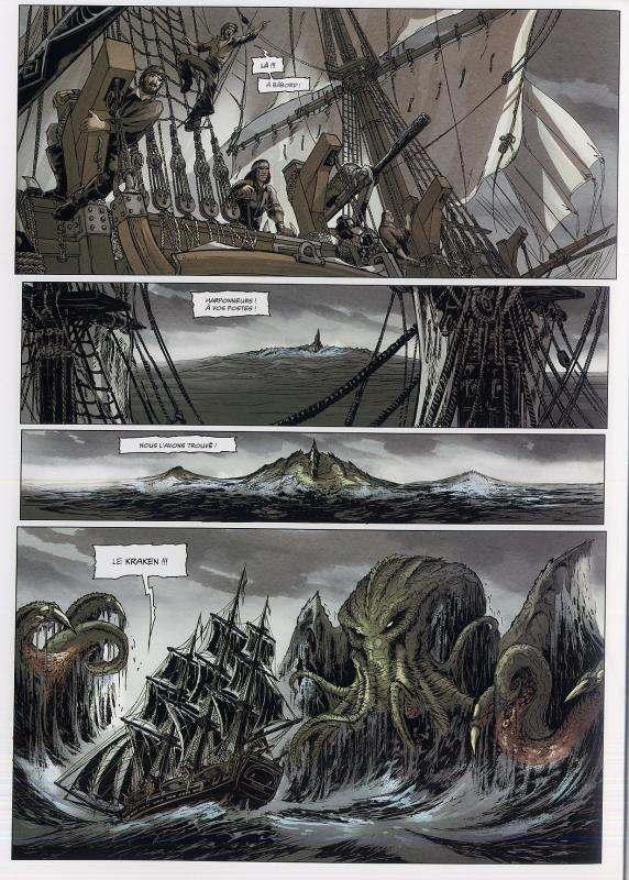 Grands anciens T1 : La Baleine blanche (0), bd chez Soleil de Lainé, Vukic, Perusse-bell