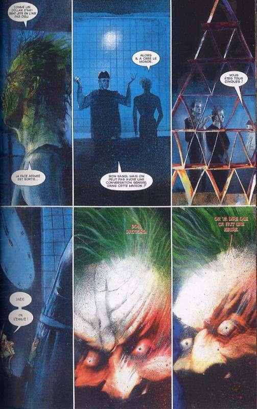 Batman - Arkham Asylum : L'asile d'Arkham (0), comics chez Panini Comics de Morrison, McKean