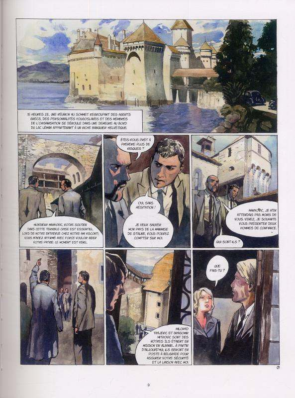 Sir Arthur Benton cycle II T3 : La Mort de l'Oncle Joe (0), bd chez Emmanuel Proust Editions de Tarek, Pompetti