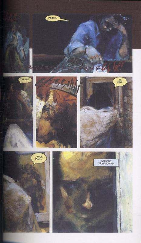 Le baron rouge : Par-delà les lignes (0), comics chez Panini Comics de Pratt