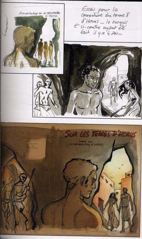 Les carnets de... T4 : Isabelle Dethan (0), bd chez Snorgleux de Dethan