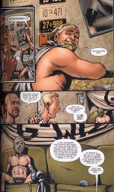 The Boys – édition souple, T6 : Quand faut y aller... (0), comics chez Panini Comics de Ennis, Higgins, Robertson, Aviña