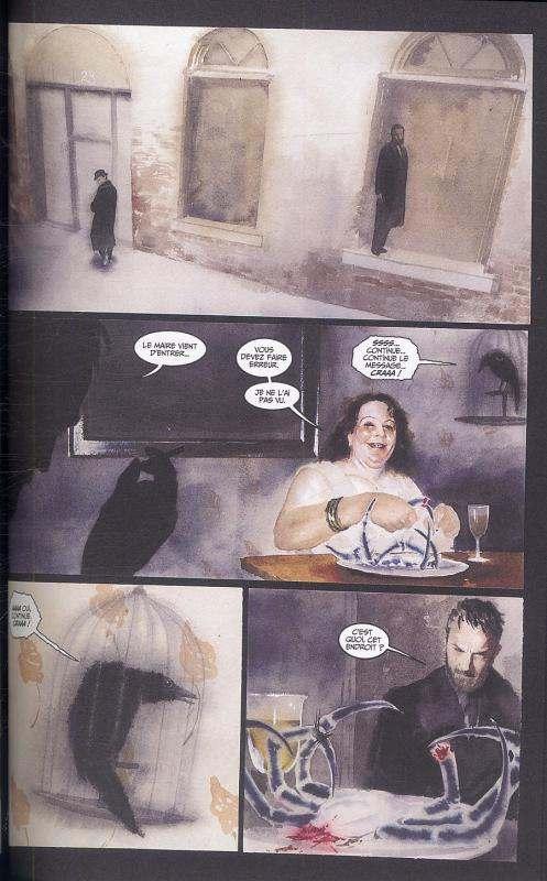 The mystery Play, comics chez Panini Comics de Morrison, Muth