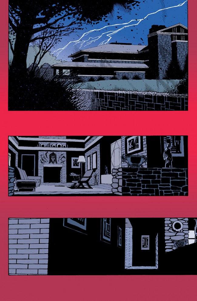 Red, comics chez Panini Comics de Ellis, Hamner, Self