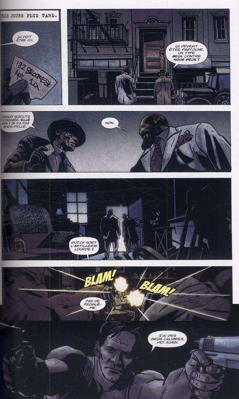 Marvel Noir, Punisher : La guerre pour la patrie (0), comics chez Panini Comics de Tieri, Azaceta, Filardi, Calero