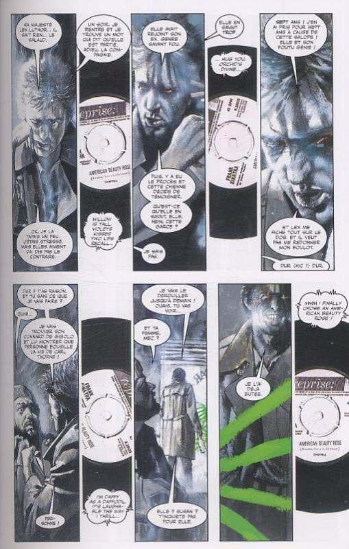L'orchidée Noire, comics chez Panini Comics de Gaiman, McKean