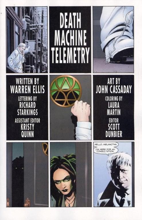 Planetary T2 : Le quatrième homme (0), comics chez Semic de Ellis, Cassaday, Depuy, Baron