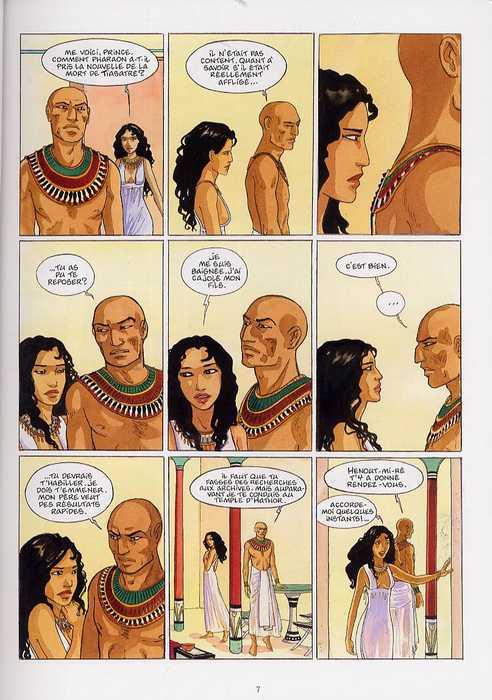 Sur les terres d'Horus T4 : Nakhtamon ou la colère de Sekhmet (0), bd chez Delcourt de Dethan