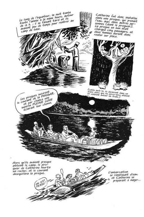 Un américain en balade, comics chez Casterman de Thompson