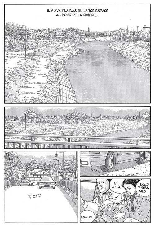 Terre de rêves, manga chez Casterman de Taniguchi