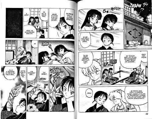 Inu Yasha T11, manga chez Kana de Takahashi