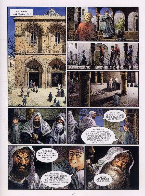 Crusades T2 : La porte d'Hermès (0), bd chez Les Humanoïdes Associés de Nikolavitch, Izu, Zhang, Jian, Hualong