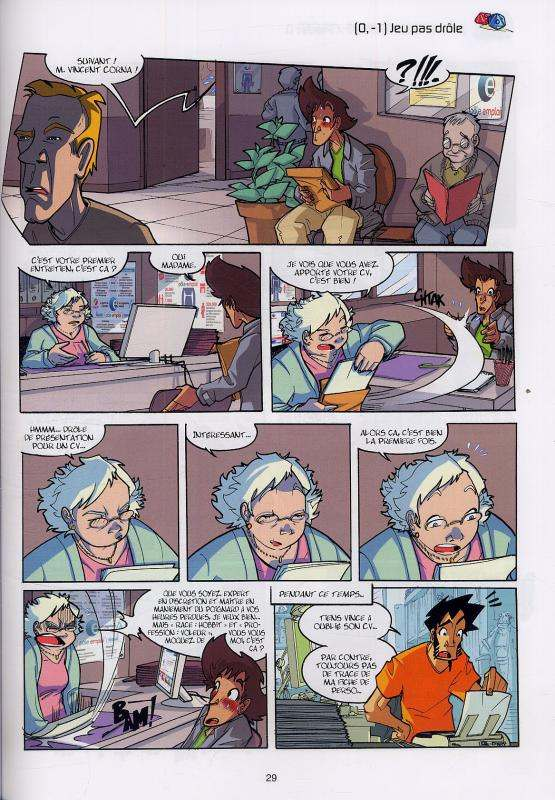 Les geeks T6 : Je ne suis pas un numéro, je suis un tome libre (0), bd chez Soleil de Gang, Labourot, Lerolle