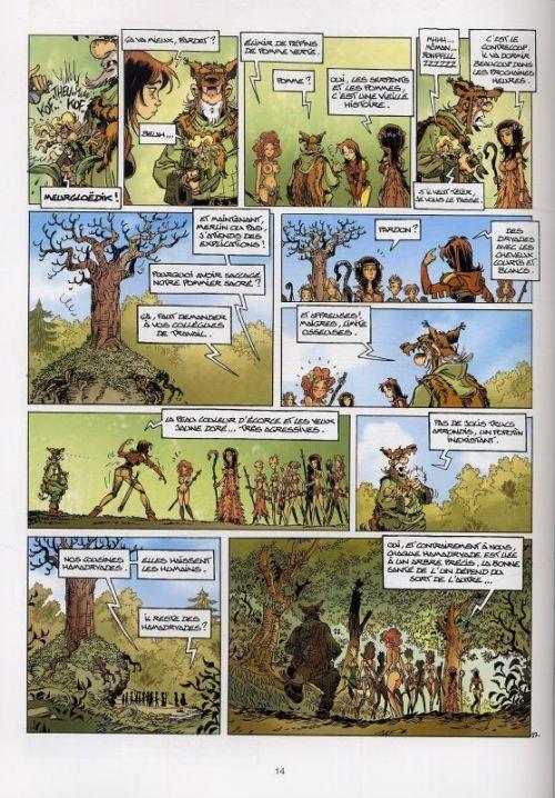 Le chant d'Excalibur T6 : Les Gardiennes de Brocéliande (0), bd chez Soleil de Melanÿn, Arleston, Hübsch, Lebreton