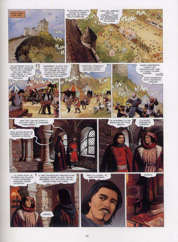 Marie des dragons T3 : Amaury (0), bd chez Soleil de Ange, Demarez, Bastide