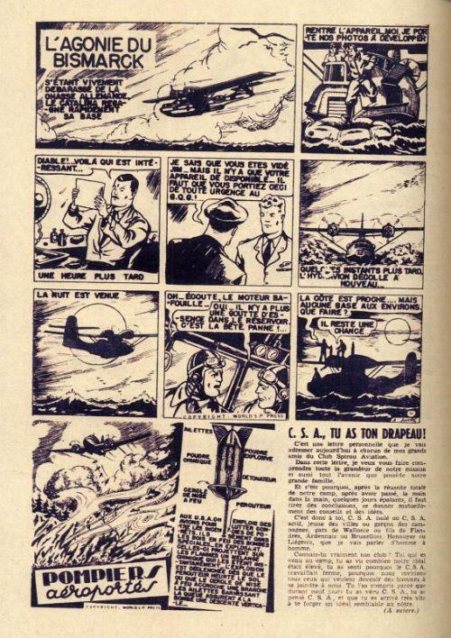 Buck Danny T1 : 1946-1948 (1), bd chez Dupuis de Troisfontaine, Charlier, Hubinon