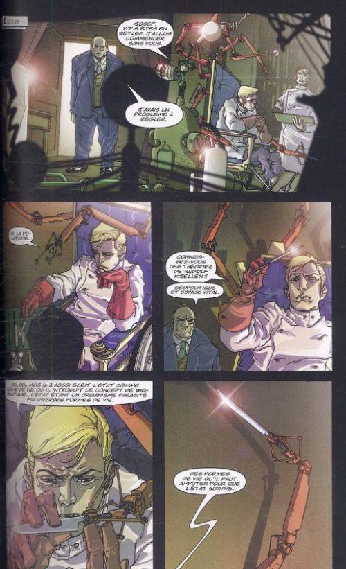 Marvel Noir – Spider-Man, T2 : Les yeux sans visage (0), comics chez Panini Comics de Sapolsky, Hine, Di Giandomenico, Zircher