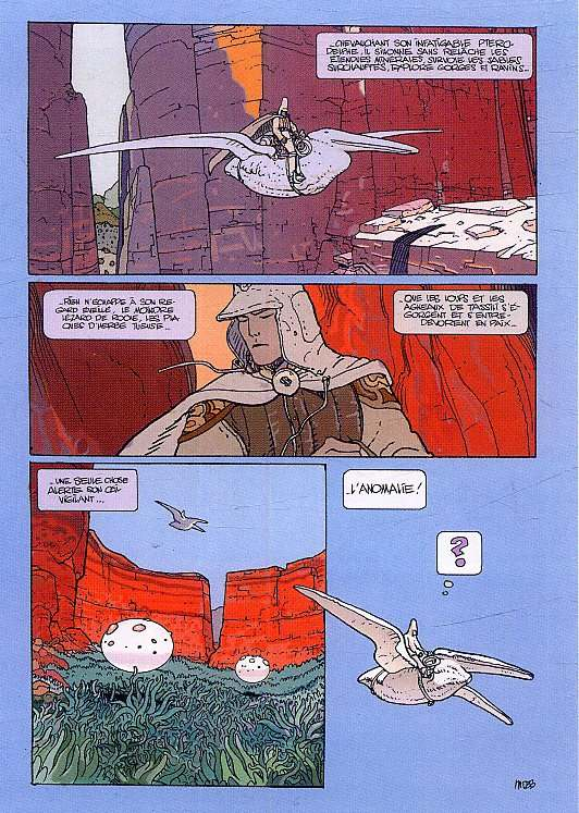 Arzak T1 : L'arpenteur (0), bd chez Glénat de Moebius