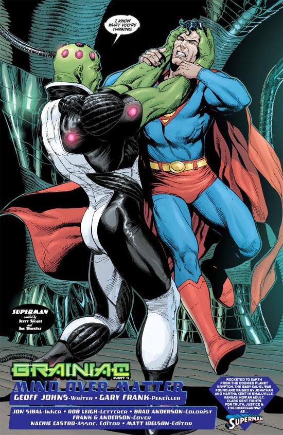 DC Universe - hors série T18 : Brainiac (0), comics chez Panini Comics de Johns, Frank, Anderson