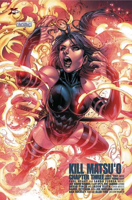 X-Men (revue) – Extra, T80 : Psylocke (0), comics chez Panini Comics de Yost, Tolibao, Ramos, Reber, Arreola, Finch