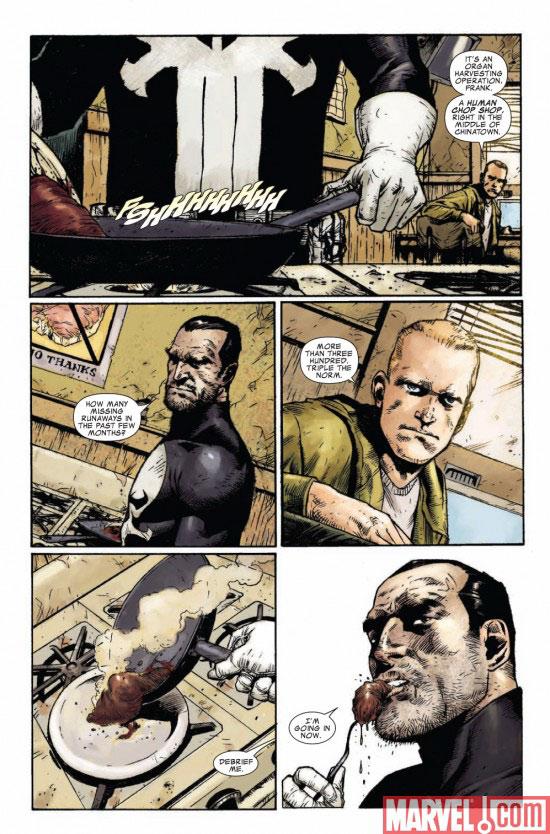 Marvel Saga – V 1, T4 : Punisher - Au coeur des ténèbres (0), comics chez Panini Comics de Remender, Opeña, Brown, Mckone