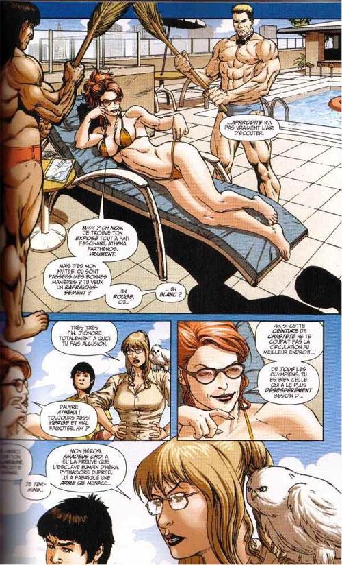 Marvel Saga – V 1, T7 : Hercule - L'assault sur le nouvel Olympe (0), comics chez Panini Comics de Pak, Van Lente, Brown, Buchemi, Mari, Granov