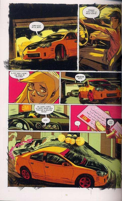 Supermarket, comics chez Milady Graphics de Wood, Donaldson