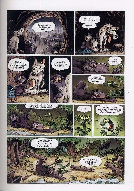 La pire espèce, bd chez Vents d'Ouest de Malka, André, Tieko, P'tiluc, Guénard