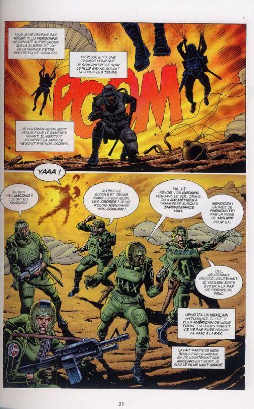 Martha Washington T2 : Temps de guerre (0), comics chez Delcourt de Miller, Gibbons, McKie