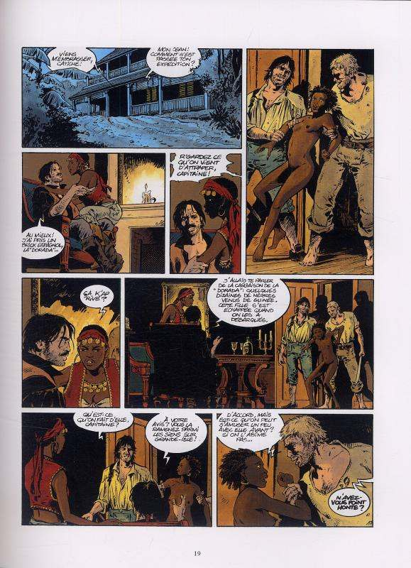 Les pirates de Barataria – cycle 1, T3 : Grande-Isle (0), bd chez Glénat de Bourgne, Bonnet, Faucon, Pradelle