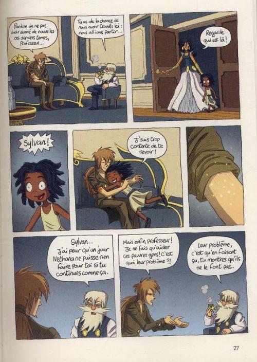 Le réveil du Zelphire T2 : Prince de sang (0), bd chez Gallimard de Friha