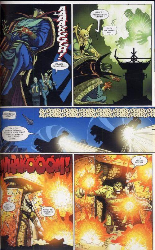 World War Hulk, comics chez Panini Comics de David, Pak, Romita Jr, Weeks, Rio, Phillips, Sandoval, Strain, Murai, Staples, Finch