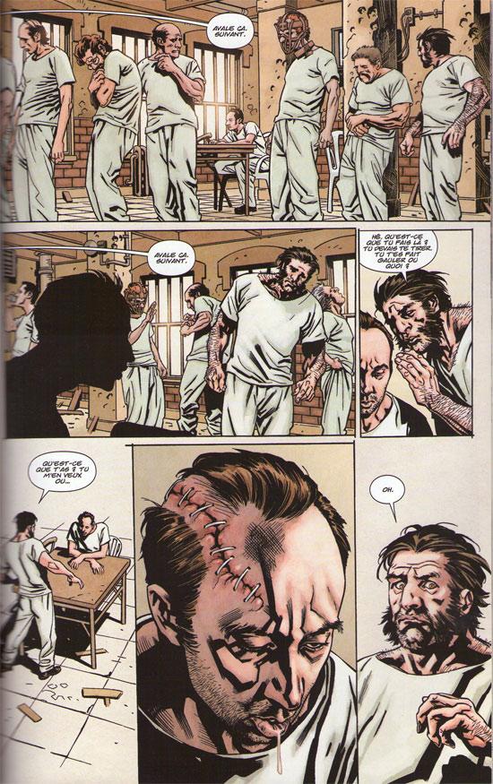Wolverine (revue) – Revue V 1, T201 : Fou dans la tête (1) (0), comics chez Panini Comics de Aaron, Paquette, Lacombe, Fairbairn, Kubert