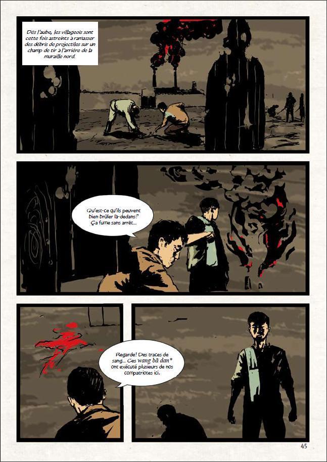 Maruta 454, manga chez Xiao Pan de Laquerre, Pastor, Song