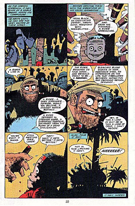 Tank Girl T4 : The odyssey (0), comics chez Ankama de Milligan, Hewlett