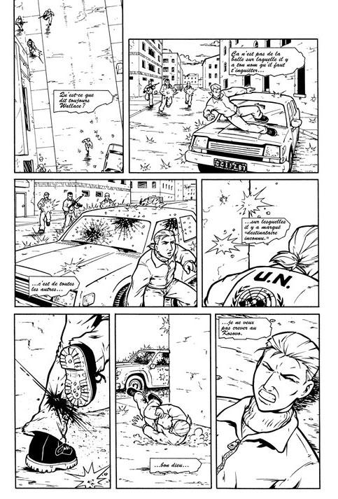 Queen & country T1 : Opérations : Broken ground & Morningstar (0), comics chez Akileos de Rucka, Hurtt, Rolston, Sakai