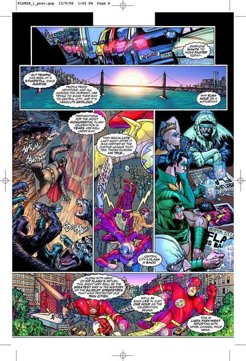 DC Heroes T1 : Flash - Renaissance (0), comics chez Panini Comics de Johns, Van sciver
