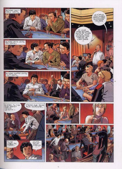 Poker T2 : Dead money (0), bd chez Le Lombard de Derrien, Van Liemt, Cesano