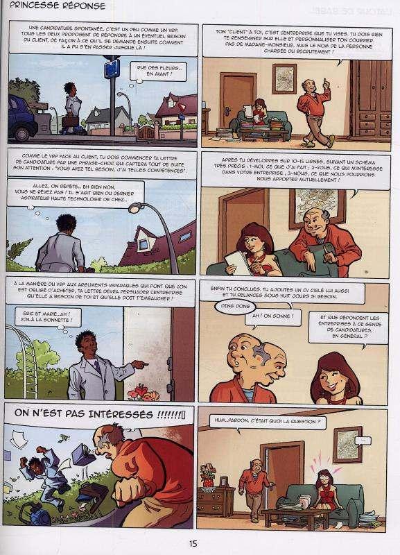 Ciboulot T2 : La recherche d'emploi (0), bd chez Bac@BD de Chamblain, Tyef, Ellen