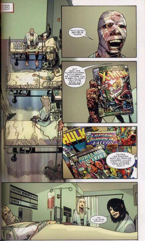 Deadpool : Il faut soigner le soldat Wilson ! (0), comics chez Panini Comics de Swierczynski, Pearson, Mounts