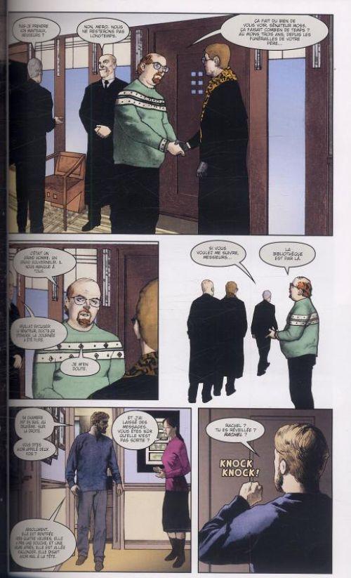 Simon Dark T2 : Cendres (0), comics chez Panini Comics de Niles, Hampton, Chuckry, Vozzo