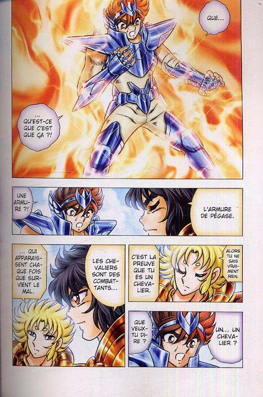 Saint Seiya - Next Dimension T1 : Le mythe d'Hadès (0), manga chez Panini Comics de Kurumada