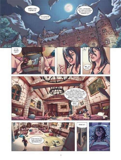 Dragon eternity T1 : De Profundis (0), bd chez 12 bis de Sarn, Moreno, Gens