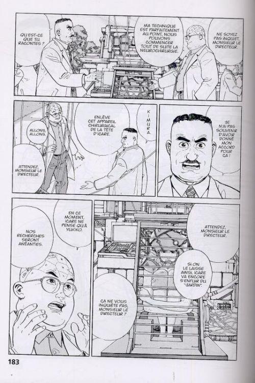 Icare, manga chez Kana de Moebius, Taniguchi