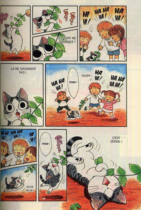 Chi - une vie de chat T1, manga chez Glénat de Konami
