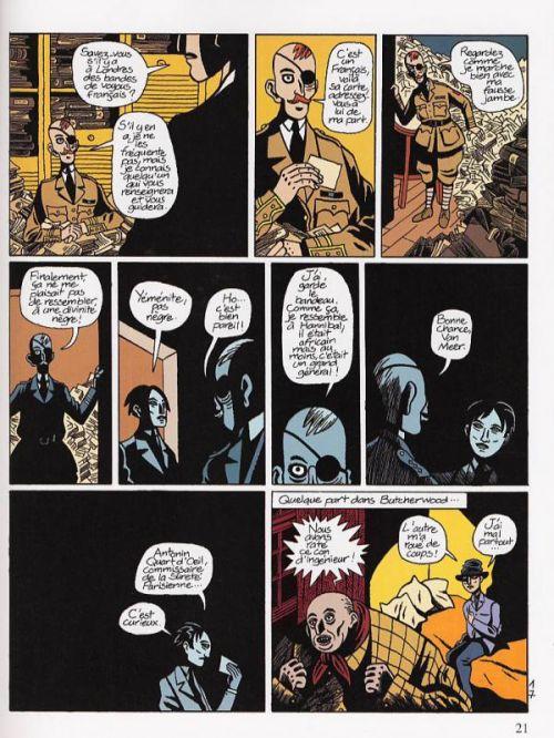 La lecture des ruines, bd chez Dupuis de David B.